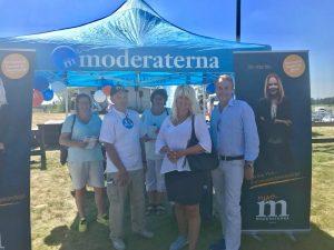 Toppkandidaterna från region och riksdag besökte Axevalla